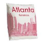 Alanta Burlap Throw Pillow