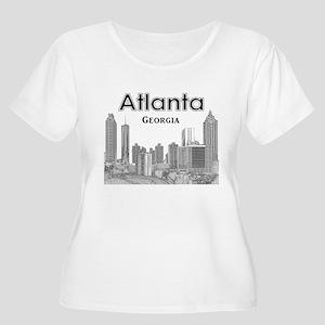 Alanta Women's Plus Size Scoop Neck T-Shirt