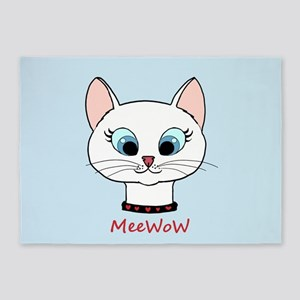 MeeWow! 5'x7'Area Rug