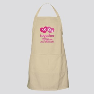 Personalized Anniversary Gift Apron