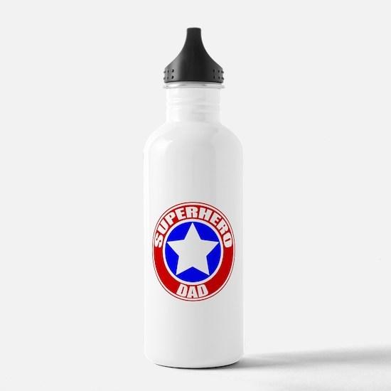 Superhero Dad Water Bottle