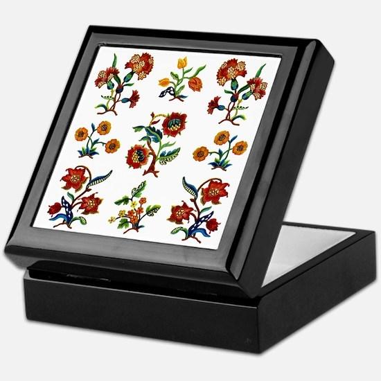 Monmouth Embroidery Keepsake Box
