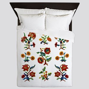 Monmouth Embroidery Queen Duvet