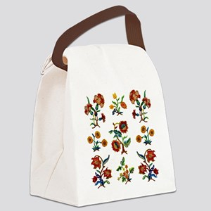 Monmouth Embroidery Canvas Lunch Bag