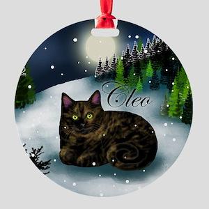 Cleo Round Ornament