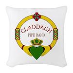 Claddagh Logo PNG Woven Throw Pillow