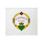 Claddagh Logo PNG Throw Blanket