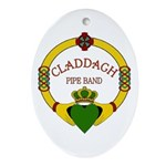 Claddagh Logo PNG Oval Ornament
