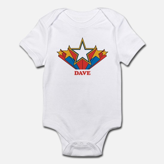DAVE superstar Infant Bodysuit