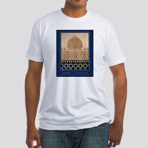 """Granada-Alhambra-3-"" Fitted T-Shirt"