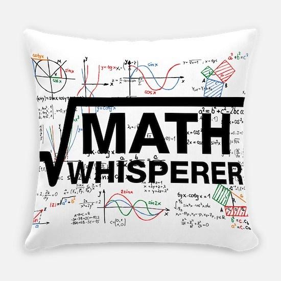 math whisperer Everyday Pillow