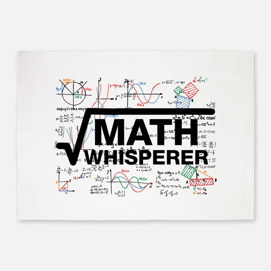 math whisperer 5'x7'Area Rug