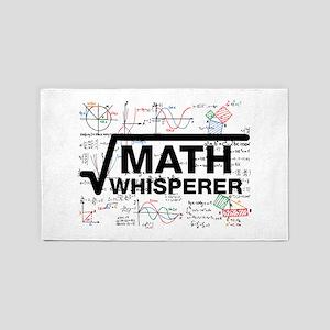 math whisperer Area Rug