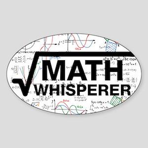 math whisperer Sticker