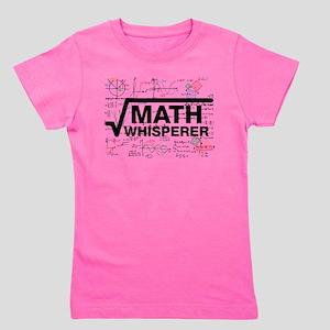 math whisperer Girl's Tee