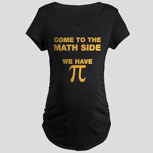 Math Side Maternity T-Shirt