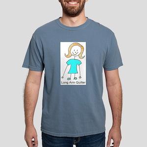 stick quilter w text lg T-Shirt