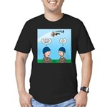 On Launch Men's Fitted T-Shirt (dark)