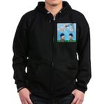 On Launch Zip Hoodie (dark)