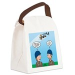 On Launch Canvas Lunch Bag
