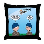 On Launch Throw Pillow