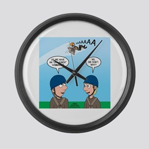 On Launch Large Wall Clock