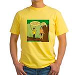 Tarzan Camp Gadgets Yellow T-Shirt