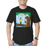 Tarzan Camp Gadgets Men's Fitted T-Shirt (dark)
