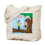 Tarzan Camp Gadgets Tote Bag