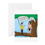Tarzan Camp Gadgets Greeting Cards (Pk of 10)