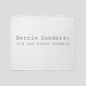 it's not brain surgery Throw Blanket