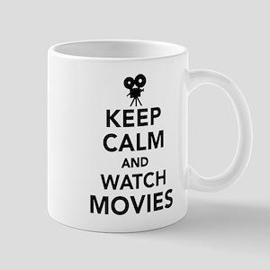 Keep calm and Movies Mug