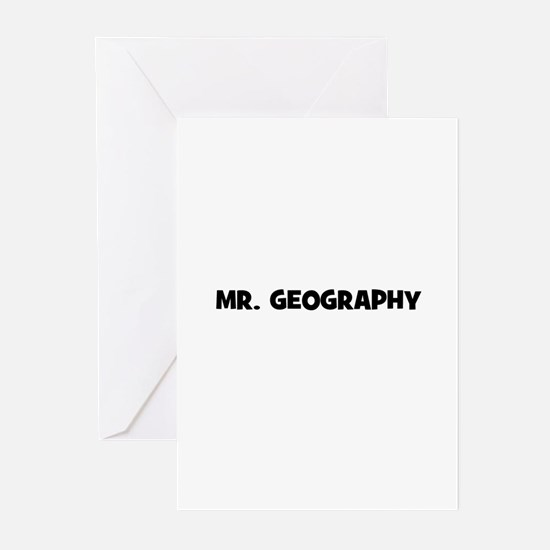 Mr. Geography Greeting Cards (Pk of 10)
