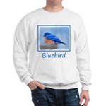 Bluebird on Birdbath Sweatshirt