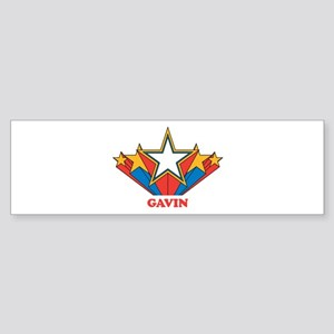 GAVIN superstar Bumper Sticker