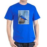 Bluebird on Birdbath Dark T-Shirt