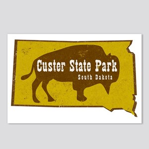 Custer State Park Bison Postcards (Package of 8)