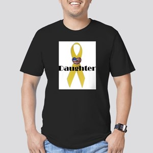 Daughter (Yellow Ribbon) Men's Fitted T-Shirt