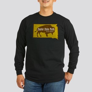 Custer State Park Bison Long Sleeve T-Shirt