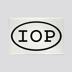 IOP Oval Rectangle Magnet