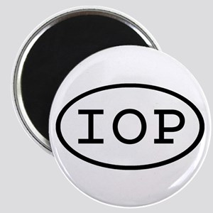 IOP Oval Magnet
