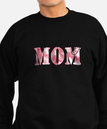 Proud Army Mom (Pink Butterfly Camo) Sweatshirt