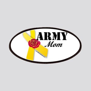 Army Mom (Ribbon Rose) Patch
