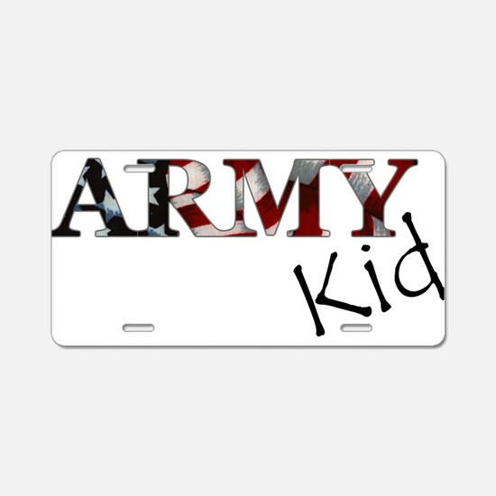Cool Army bride Aluminum License Plate