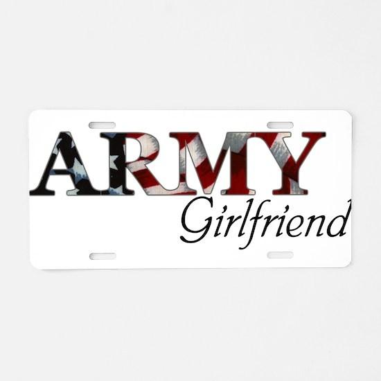 Unique Army bride Aluminum License Plate