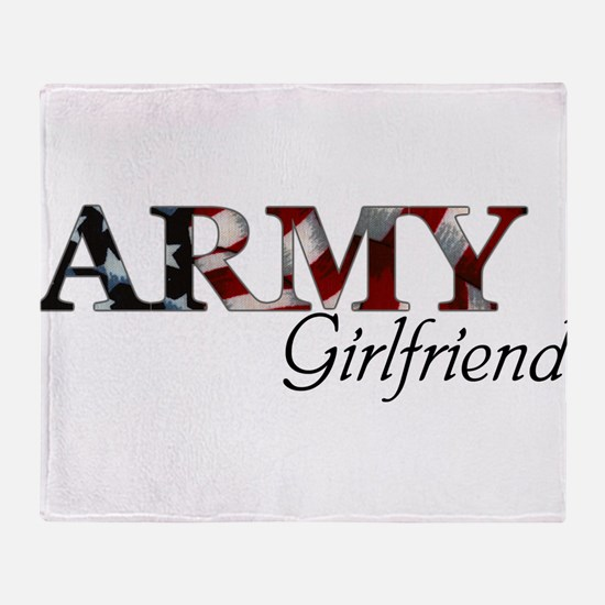 Unique Army wife Throw Blanket