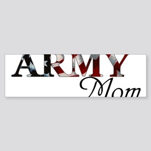 Army Mom (Flag) Sticker (Bumper)