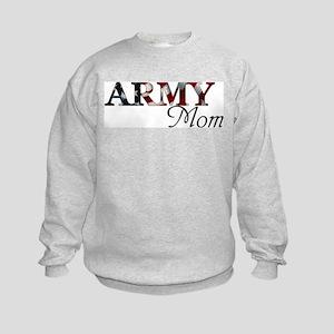 Army Mom (Flag) Kids Sweatshirt