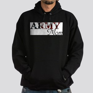 Army Mom (Flag) Hoodie (dark)