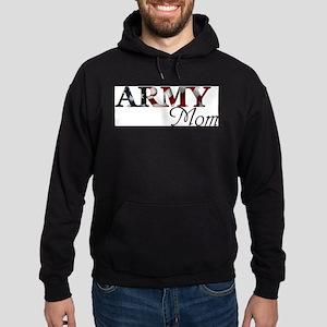 Army Mom (Flag) Hoodie (dark)